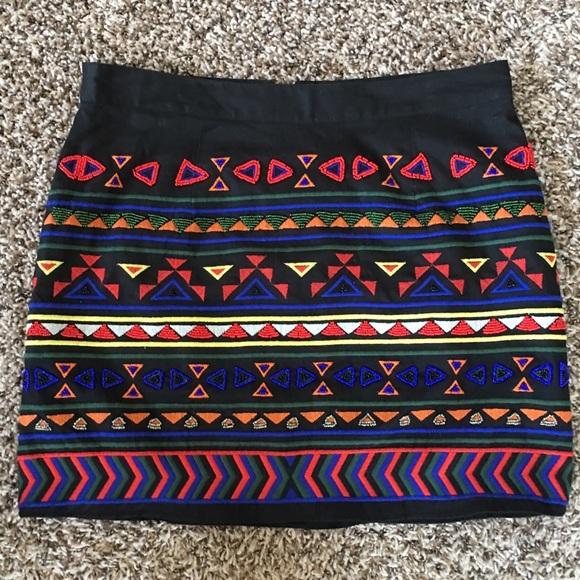 Sam Edelman Dresses & Skirts - Tribal Print Skirt